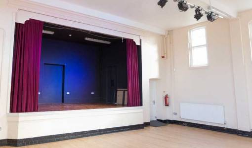 Hasland Village Hall Stage