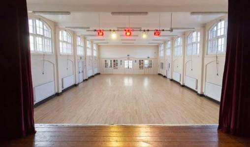 Hasland Village Hall Main Hall - View from Stage