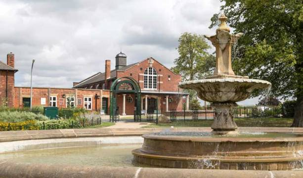 Hasland Village Hall Fountain