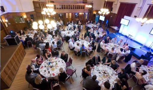 Chesterfield Retail Awards in the Winding Wheel Ballroom