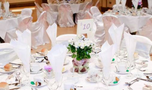 Winding Wheel Wedding Reception